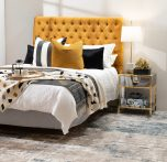 Block & Chisel mirrored bedside