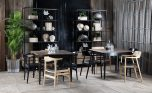 Cafe style table with coffee shops, restaurants or dining nooks in the home