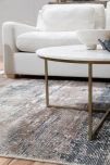 block and chisel linie embla rug in steel