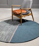 block and chisel linie rug Magnetize blue