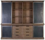 Block & Chisel display cabinet