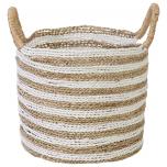 Block & Chisel round seagrass basket