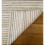 Block & Chisel natural striped rug or carpet