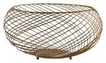 Block & Chisel round iron wire basket