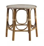 Angelo Side Table - Made from bamboo - coastal, bohemian, round table