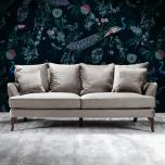 Monroe Sofa silver Velvet