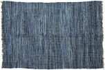 Block & Chisel natural blue jute carpet