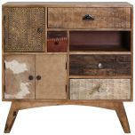 Block & Chisel mango wood sideboard with deconstructed finish