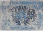 Block & Chisel grey and blue printed rug