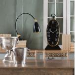 Block & Chisel oval antique clock