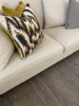 block and chisel wellington rug in black