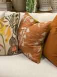 Hillhouse scatter cushion rusted flower