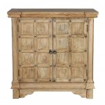 Block & Chisel wooden cabinet with two doors