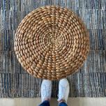 Block & Chisel denim carpet